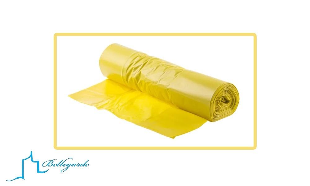 Distribution annuelle de sacs jaunes pour le tri sélectif