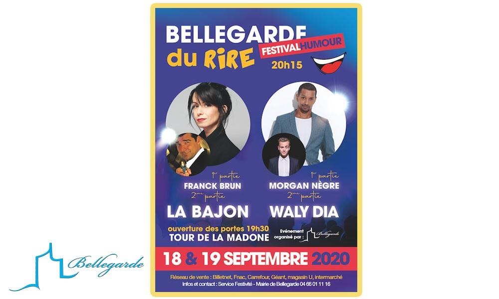 """Festival de l'humour """"Bellegarde du Rire"""" ANNULATION"""