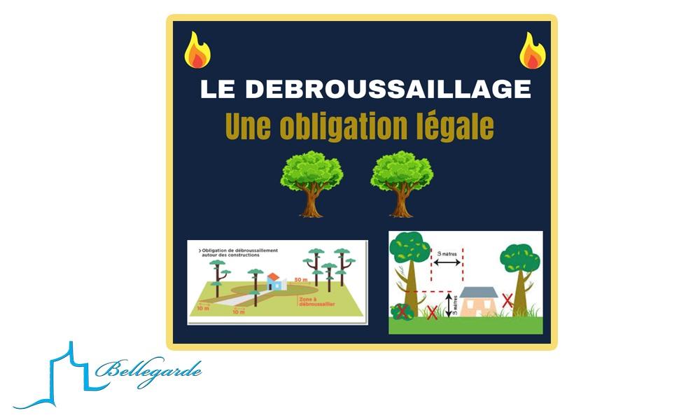 Les Obligations Légales de Débroussaillage. Réunion d'information publique.