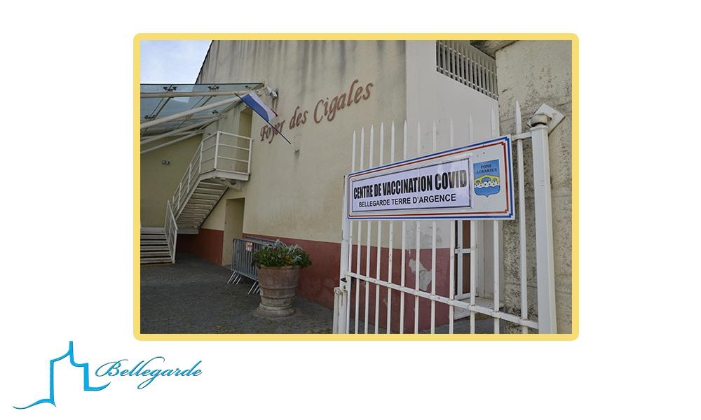Ouverture d'un centre de vaccination anti covid à Bellegarde